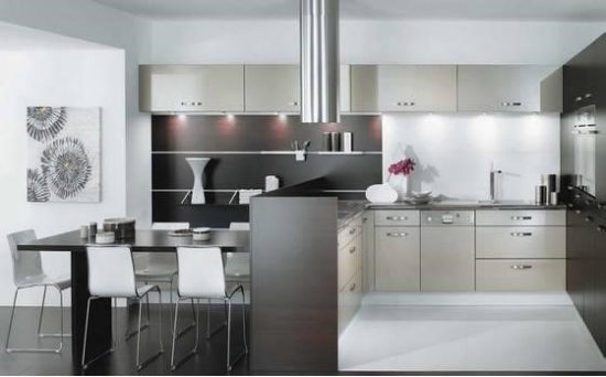 Phòng bếp hiện đại giúp cuộc sống hiện đại hơn