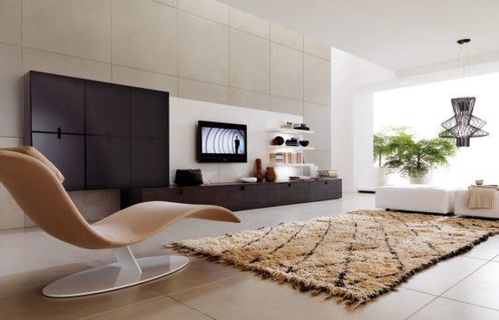 Phong cách nội thất hiện đại giúp mang đến không gian sống cực thoải mái