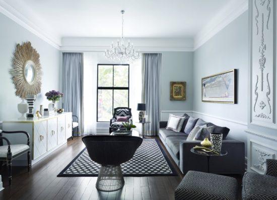 Phong cách nội thất tân cổ điển không có nhiều chi tiết rườm rà như cổ điển