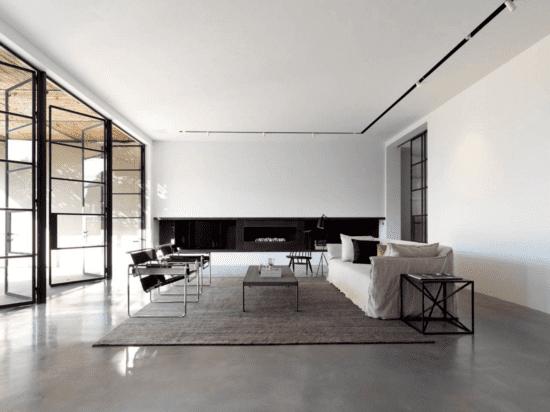 Phong cách tối giản thường loại bỏ các nội thất không cần thiết