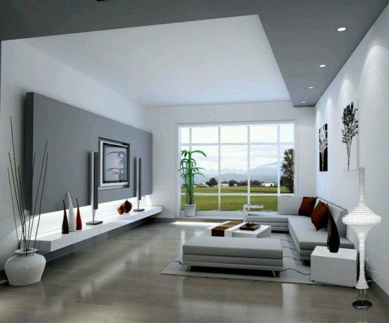 Phòng khách được thiết kế nội thất hiện đại