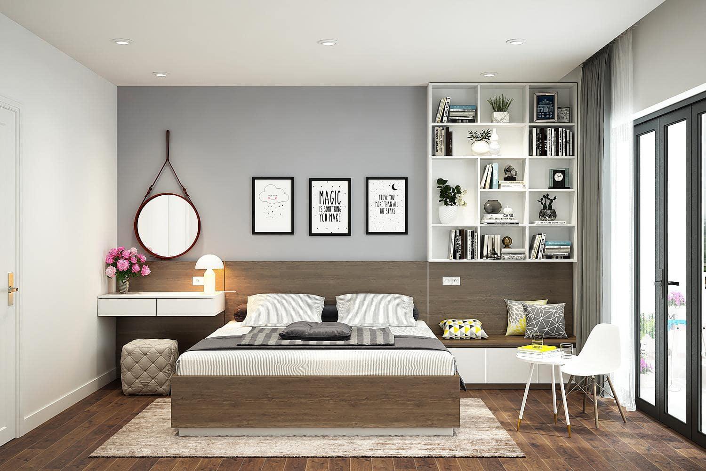 Phòng ngủ với các đồ dùng thông minh