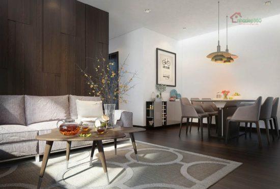 Thiết kế phong cách nội thất hiện đại ấn tượng nhất