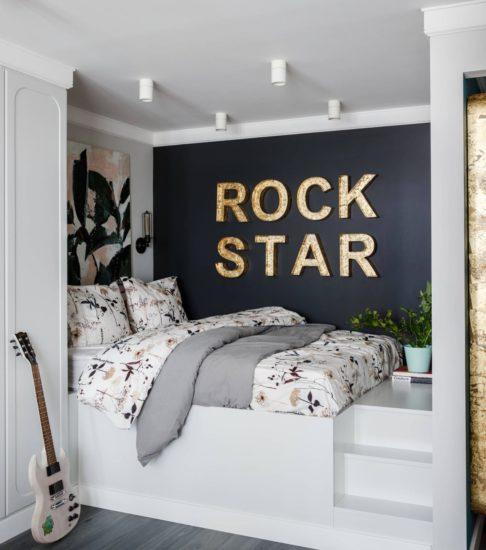 Thiết kế phòng ngủ nhỏ đẹp khá ấn tượng