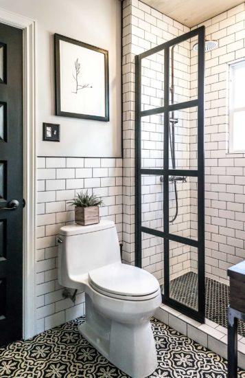 Thiết kế phòng tắm nhỏ đẹp nhưng vẫn đầy đủ các tiện nghi