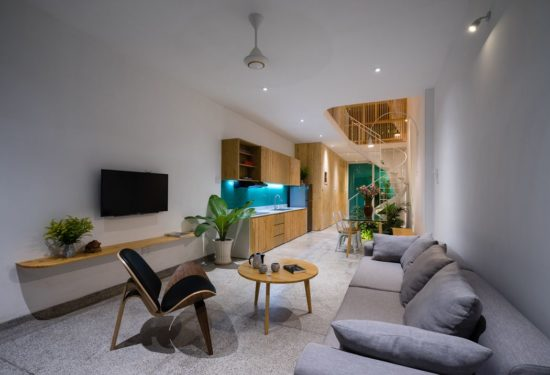 Bố trí nội thất phù hợp, tinh tế, cân đối với không gian