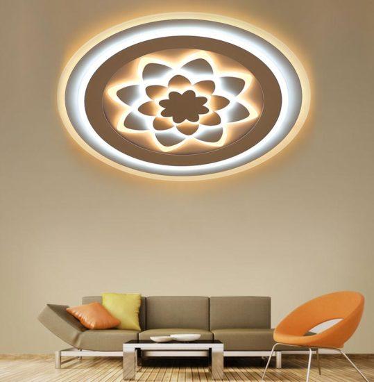 Đèn ốp trần với nhiều thiết kế độc đáo