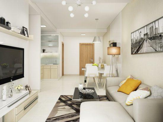 Đồ dùng nội thất chiếm phần lớn diện tích nhà phố