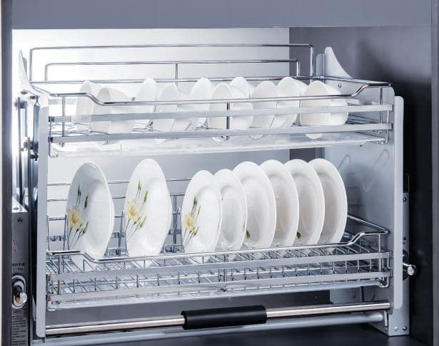 Giá đựng bát đĩa cố định