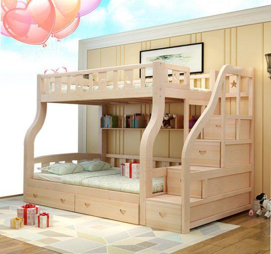 Giường tầng đa chức năng cho bé