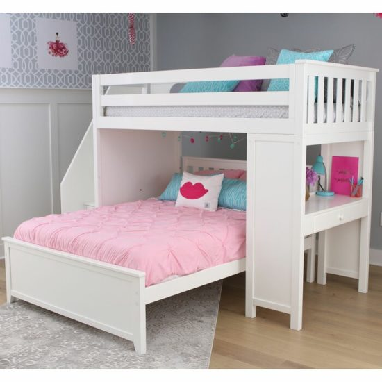 Giường tầng đang được nhiều người yêu thích bởi những đặc điểm vượt trội mà nó mang lại