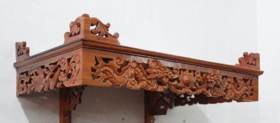 Lựa chọn mẫu bàn thờ có kích thước lỗ ban chuẩn và cung số đẹp