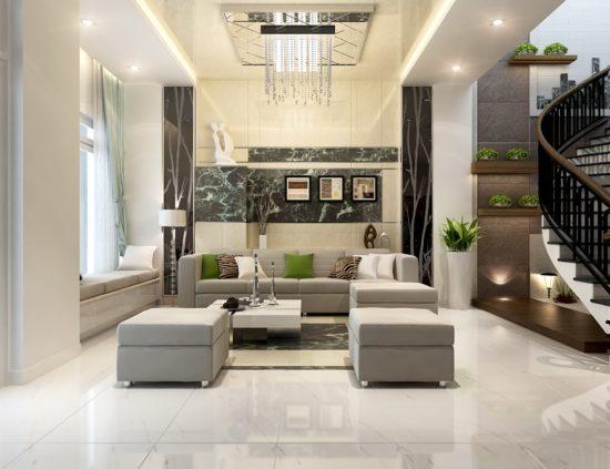 Lựa chọn những gam màu nội thất phù hợp cho nhà phố
