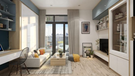 Lựa chọn phong cách thiết kế nội thất nhà phố hiện đại