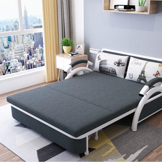 Mẫu giường sofa tiết kiệm được khá nhiều diện tích không gian