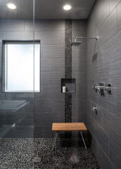 Mẫu phòng tắm với nội thất và màu sắc sang trọng