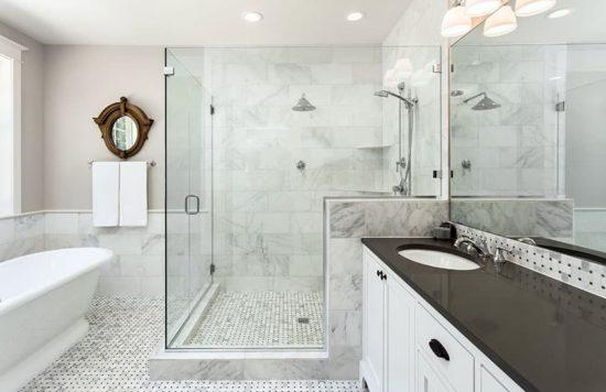 Mẫu thiết kế nội thất phòng tắm hiện đại và tiện nghi