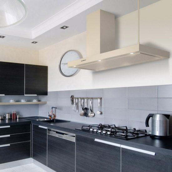 Máy hút mùi cho không gian bếp luôn có không gian thoáng, sạch