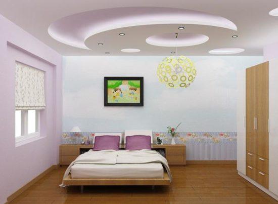 Nét lãng mạn và đáng yêu cho không gian phòng ngủ bé gái