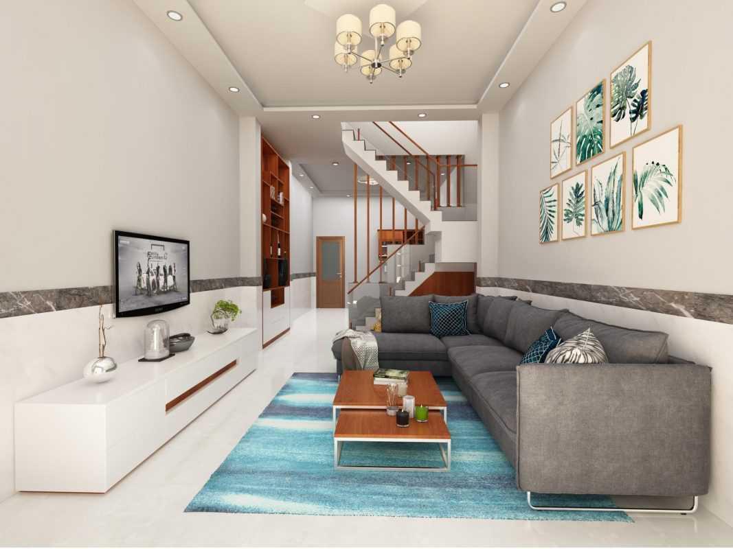 Những gam màu sáng thường được sử dụng nhiều trong nội thất nhà phố