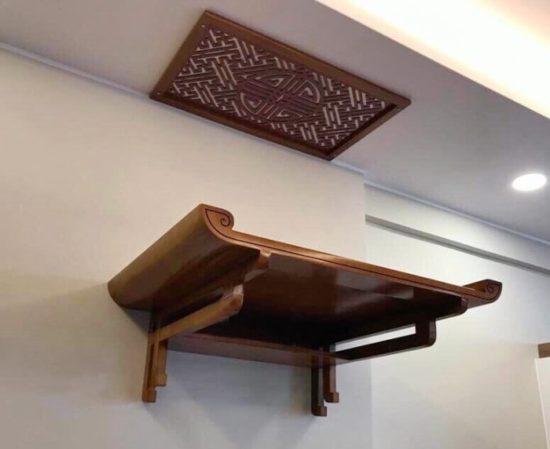 Những mẫu bàn thờ treo tường cho nhà chung cư