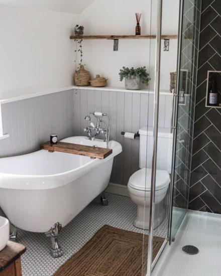 Nội thất phòng tắm cần phải có sự liên kết