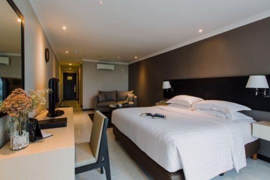 Phong cách sang trọng cho phòng ngủ khách sạn