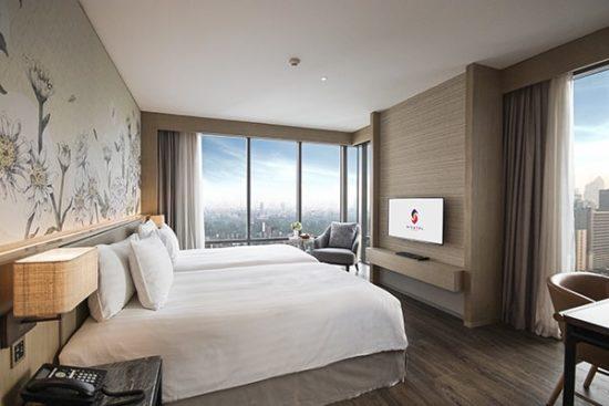 Phòng ngủ khách sạn đẹp phải có những thiết bị, nội thất cơ bản nhất