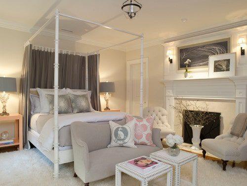 Phòng ngủ khách sạn mang phong cách lãng mạn