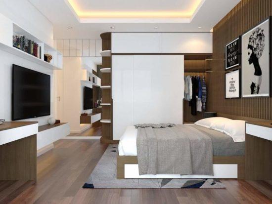 Phòng ngủ master cho bố mẹ
