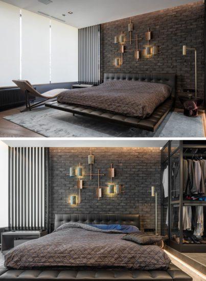 Phòng ngủ master sang trọng, hiện đại