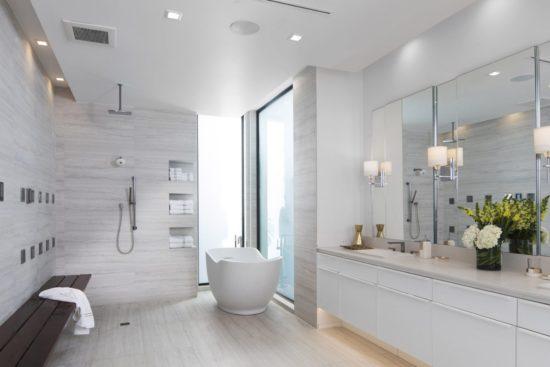 Phòng tắm hiện đại, đơn giản