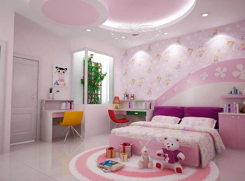 Quan tâm đến chất liệu của sản phẩm nội thất phòng ngủ trẻ em