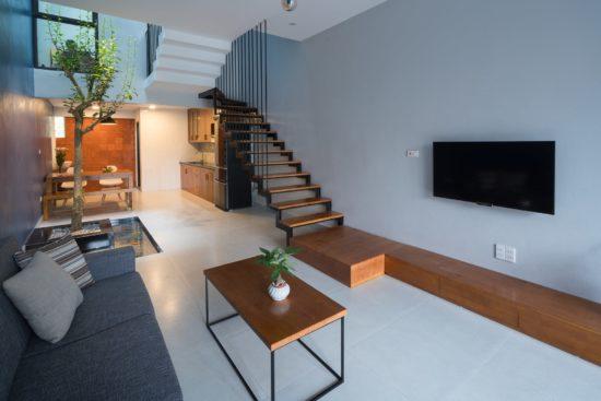 Sử dụng các nội thất cần thiết và có kích thước phù hợp