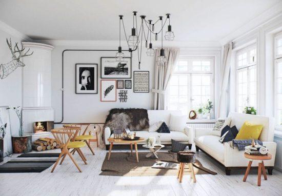 Sử dụng phong cách Bắc Âu cho chung cư