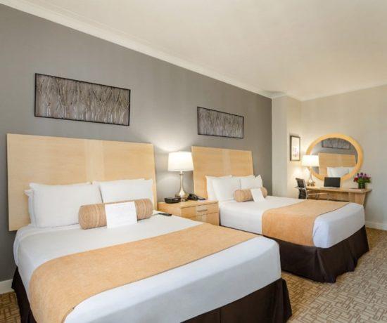 Thêm một mẫu phòng ngủ khách sạn đôi đơn giản