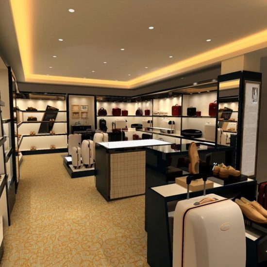 Thiết kế nội thất cửa hàng sang trọng