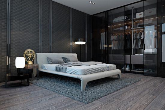 Thiết kế phòng thay đồ trong phòng ngủ